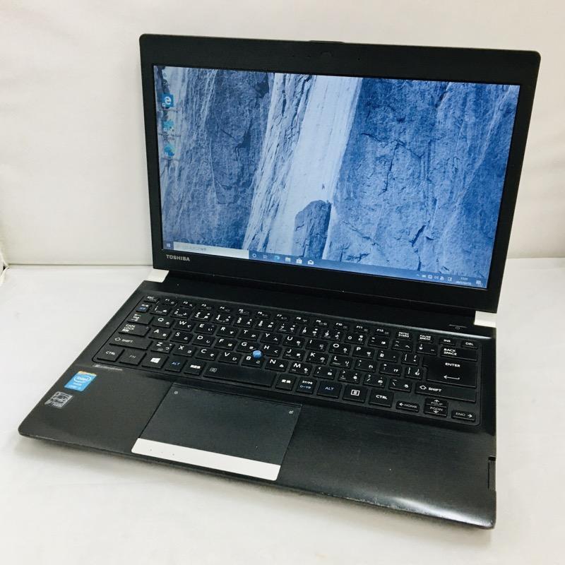 【中古】[ Toshiba ] Toshiba dynabook R734K / Core i5 4300M 2.60GHz / 13.3インチワイド /キーボード新品交換済み