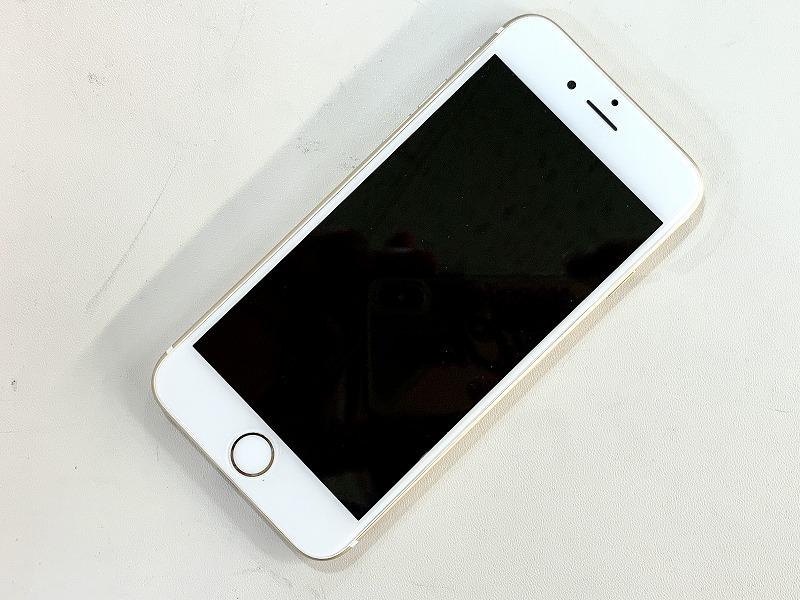 【中古】[ Apple ] iPhone6 ゴールド 16GB / A1586 / au版 白ロム