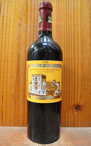 シャトー・デュクリュ・ボーカイユ 2006年 メドック公式格付第2級 750ml (フランス ボルドー サンジュリアン 赤ワイン)