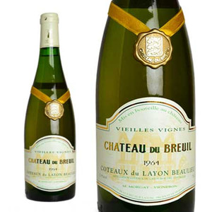 コトー・デュ・レイヨン ボーリュー ヴィエイユ・ヴィーニュ 1964年 シャトー・デュ・ブルイユ 750ml (フランス ロワール 白ワイン)