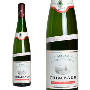 トリンバック アルザス ゲヴュルツトラミネール セレクション・ド・グラン・ノーブル オー・ショー 2007年 ドメーヌ・トリンバック 750ml (アルザス 白ワイン)