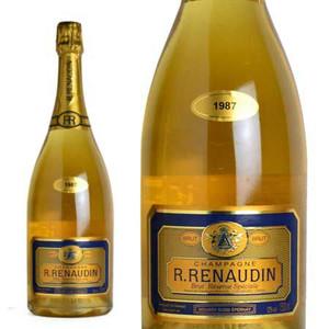 シャンパン R.ルノーダン レゼルヴ・スペシアル ブリュット ミレジム1987年 マグナムサイズ 1500ml (フランス シャンパーニュ 白)