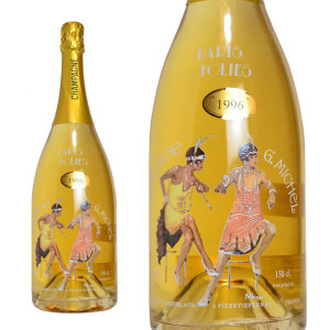 シャンパン ギィ・ミッシェル パリ・フォリ ミレジム 1996年 マグナムサイズ 1500ml (フランス シャンパーニュ 白 箱なし)