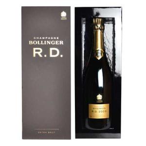 シャンパーニュ ボランジェ R.D. ミレジム2002年 デゴルジュ2014年3月13日 750ml 箱入り 正規 (フランス シャンパン 白)
