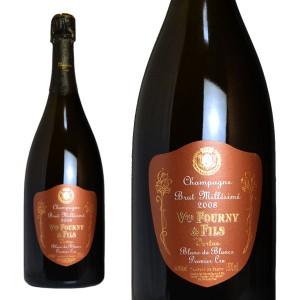 シャンパーニュ ヴーヴ・フルニ プルミエ・クリュ ブラン・ド・ブラン ミレジム2008年 マグナムサイズ 1500ml (シャンパン 白 箱なし)