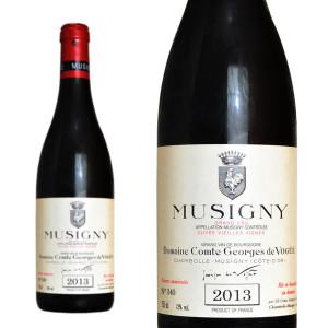 ミュジニー グラン・クリュ キュヴェ・ヴィエイユ・ヴィーニュ 2013年 ドメーヌ・コント・ジョルジュ・ド・ヴォギュエ 750ml (ブルゴーニュ赤ワイン)