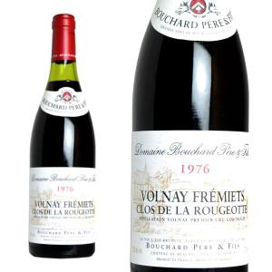 ヴォルネイ プルミエ・クリュ フレミエ・クロ・ド・ラ・ルジョット 1976年 ドメーヌ・ブシャール・ペール・エ・フィス 正規 750ml (ブルゴーニュ 赤ワイン)