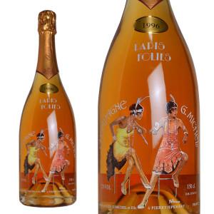 シャンパン ギィ・ミッシェル ロゼ パリ・フォリ ミレジム 1996年 マグナムサイズ 1500ml (フランス シャンパーニュ 箱なし)
