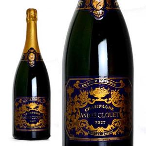 シャンパーニュ アンドレ・クルエ グラン・レゼルヴ・ブリュット マグナムサイズ 1500ml (シャンパン 白 箱なし)