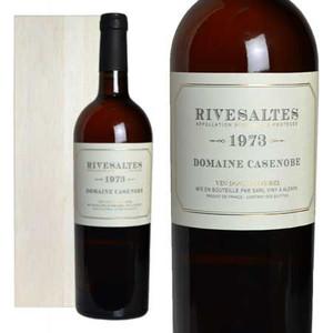 リヴザルト 1973年 ドメーヌ・カサノーブ 木箱入り (フランス ラングドックルーション 白ワイン)