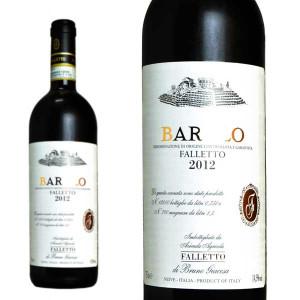 バローロ ファッレット・ディ・セッラルンガ・ダルバ 2012年 ブルーノ・ジャコーザ 750ml (イタリア 赤ワイン)