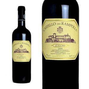 カステッロ・デイ・ランポッラ ダルチェオ 2008年 750ml (イタリア 赤ワイン)