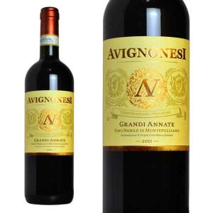 グランディ・アンナーテ ヴィーノ・ノービレ・ディ・モンテプルチアーノ リゼルヴァ 2011年 アヴィニョネージ社 750ml (イタリア 赤ワイン)