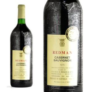 レッドマン カベルネ・ソーヴィニヨン 1975年 マグナムサイズ レッドマン&サンズ・ワイナリー (赤ワイン・オーストラリア)