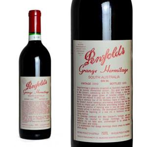 ペンフォールズ グランジ・ハーミテージ 1989年 正規輸入代理店品 (赤ワイン・オーストラリア)