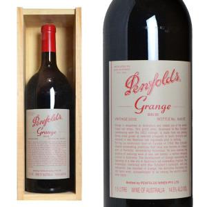 ペンフォールズ グランジ 2002年 マグナムサイズ 木箱入り 正規輸入代理店品 (赤ワイン・オーストラリア)