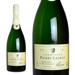 シャンパン ピエール・ルグラ グラン・クリュ ブラン・ド・ブラン ブリュット マグナムサイズ 1500ml (フランス シャンパーニュ 白 箱なし)
