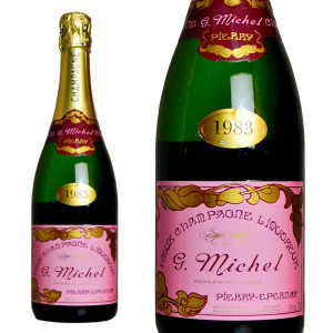 シャンパン ギィ・ミッシェル リコルー ドゥー ミレジム1983年 750ml (フランス シャンパーニュ 白 箱なし)