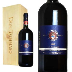 ドン・トッマーゾ キアンティ・クラシコ 1998年 レ・コルティ マグナムサイズ 木箱入り 1500ml (イタリア 赤ワイン)