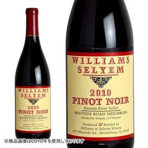 ウィリアムズ・セリエム ウエストサイド・ロード・ネイバーズ ピノ・ノワール 2011年 正規 750ml (カリフォルニア 赤ワイン)