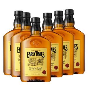アーリータイムズ イエローラベル 40% 1750ml ペットボトル 6本セット 正規 (ケンタッキー バーボン ウィスキー)