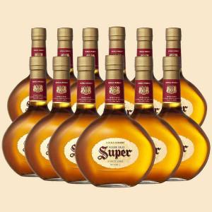 【送料無料】スーパーニッカ 43% 700ml 12本入り 1ケース 正規品(ブレンデッドウイスキー)