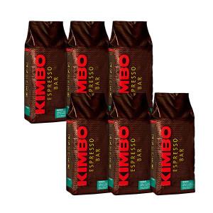キンボ エスプレッソ豆 プレミアム 1kg×6袋 (コーヒー豆) ※他の商品と同梱不可