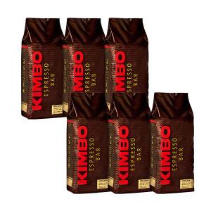 キンボ エスプレッソ豆 エクストラクリーム 1kg×6袋 (コーヒー豆) ※他の商品と同梱不可
