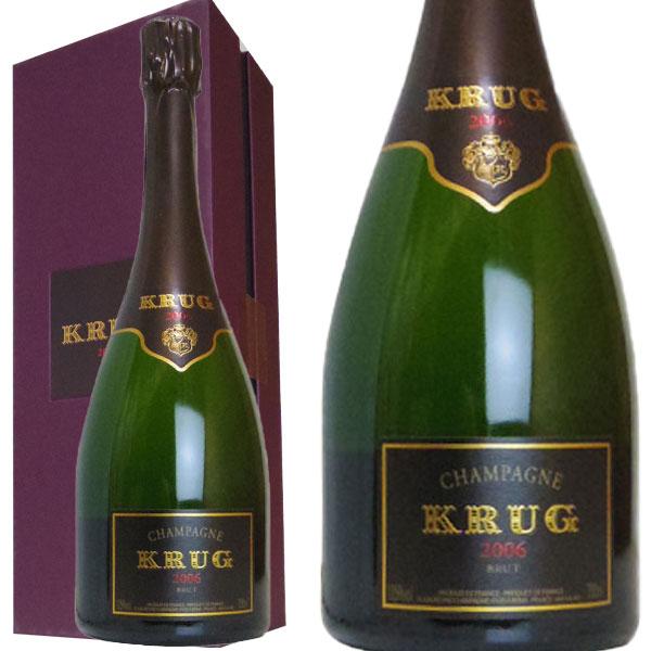クリュッグ シャンパーニュ ブリュット ヴィンテージ 2006年 750ml 正規品 箱入 フランス 白ワイン