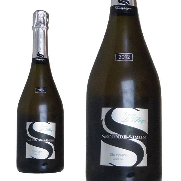 スゴンデ シモン キュヴェ モノポール畑 ル ヴィラージュ グラン クリュ 特級 2012年 (R.M)生産者元詰 フランス シャンパン