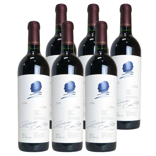 オーパスワン 6本セット 2016年 750ml 送料無料 アメリカ カリフォルニア 赤ワイン