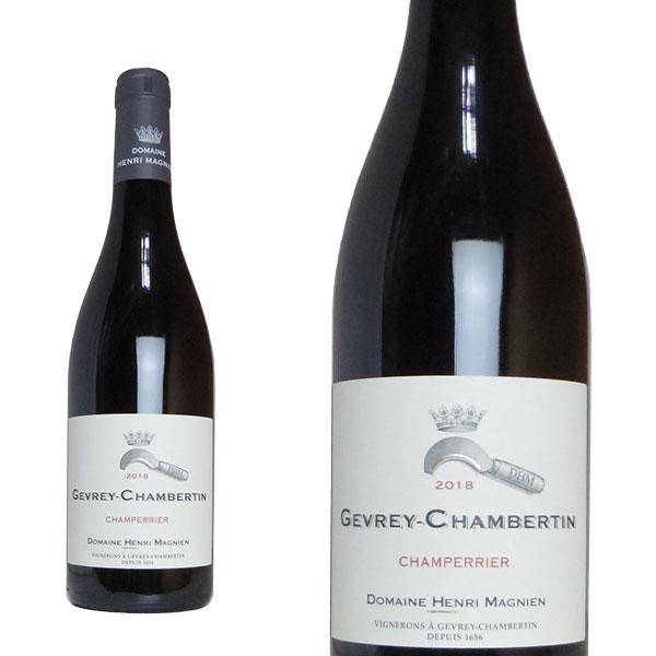 ジュヴレ シャンベルタン シャンペリエ 2018年 ドメーヌ アンリ マニャン元詰 フランス 赤ワイン