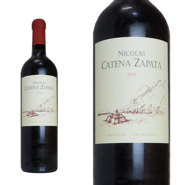 ニコラス カテナ サパータ 2016年 750ml 正規 (アルゼンチン 赤ワイン)