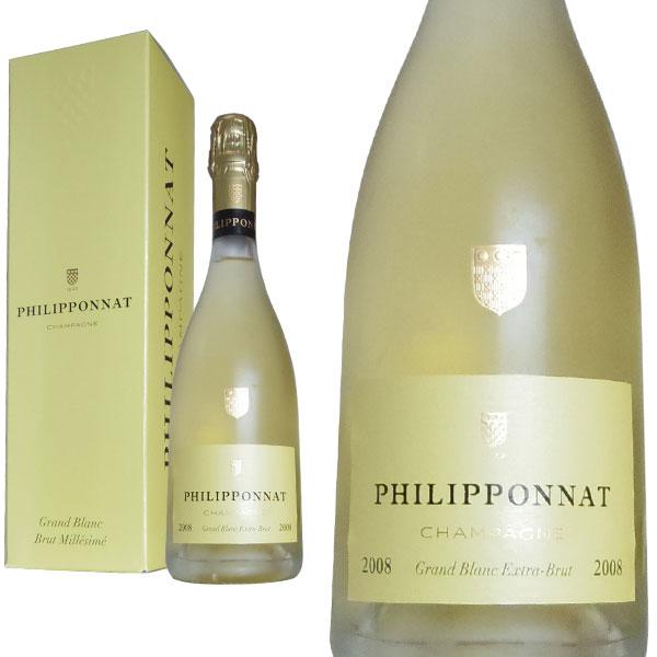 【箱入】シャンパーニュ フィリポナ グラン・ブラン ミレジム2008年 750ml シャンパン 白