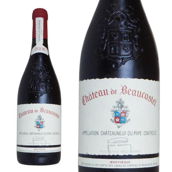 シャトーヌフ デュ パプ エノテーク 2006年 シャトー ド ボーカステル元詰 正規品 750ml フランス ローヌ 赤ワイン