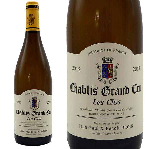 買い物 最安値に挑戦 シャブリ グラン クリュ レ クロ 2019年 ドメーヌ ジャン ポール 正規 ドロワン エ ブルゴーニュ フランス 750ml ブノワ 白ワイン