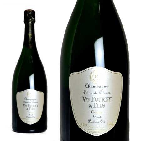 シャンパン ヴーヴ・フルニ・エ・フィス プルミエ・クリュ ブラン・ド・ブラン ブリュット マグナムサイズ 1500ml (フランス シャンパーニュ 白 箱なし)