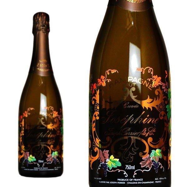 シャンパン ジョセフ・ペリエ キュヴェ・ジョセフィーヌ ブリュット ミレジム 2008年 750ml 正規 (フランス シャンパーニュ 白)