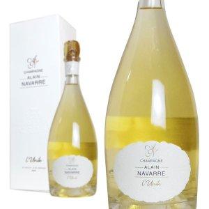 シャンパン アラン・ナヴァール リュニック ブラン・ド・ブラン 750ml 箱入り (フランス シャンパーニュ 白)