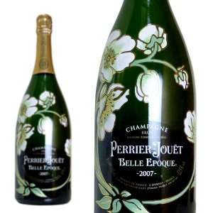 【大型ボトル】ペリエ ジュエ ベル エポック シャンパーニュ ブリュット ミレジム 2007年 大型マグナムサイズ フルール ド シャンパーニュ