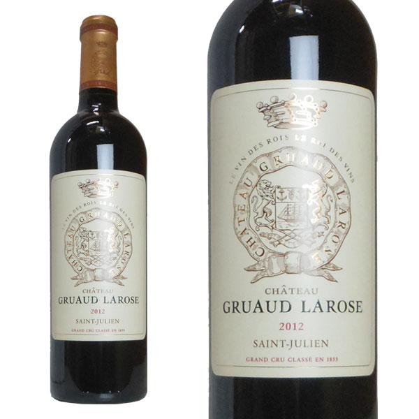 シャトー・グリュオー・ラローズ 2012年 メドック格付け第2級 750ml (フランス ボルドー サンジュリアン 赤ワイン)