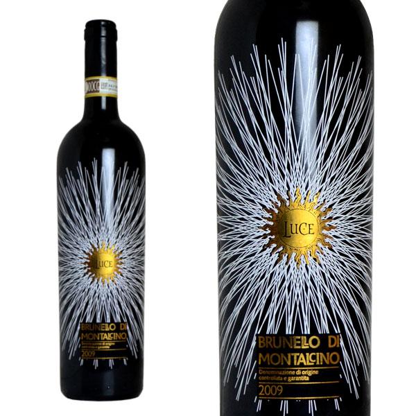 ルーチェ ブルネッロ・ディ・モンタルチーノ 2009年 ルーチェ・デッラ・ヴィーテ 正規 750ml (イタリア 赤ワイン)