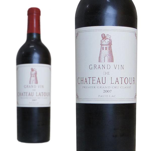 シャトー・ラトゥール 2007年 メドック公式格付け第1級 750ml (フランス ボルドー ポイヤック 赤ワイン)