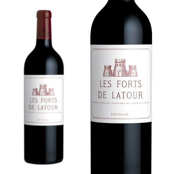レ・フォール・ド・ラトゥール 2001年 シャトー・ラトゥール 2ndラベル 750ml (フランス ボルドー ポイヤック 赤ワイン)