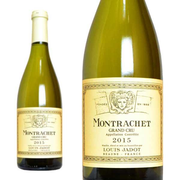 モンラッシェ グラン・クリュ 2015年 ルイ・ジャド社 750ml 正規 (フランス ブルゴーニュ 白ワイン)