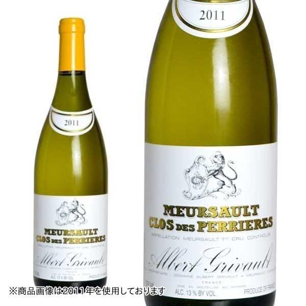 ムルソー プルミエ・クリュ クロ・デ・ペリエール モノポール 2016年 ドメーヌ・アルベール・グリヴォー 750ml (フランス ブルゴーニュ 白ワイン)