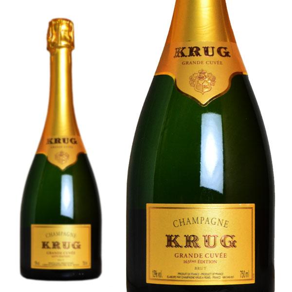 クリュッグ グランド・キュヴェ ブリュット (エディション168) 正規 750ml (シャンパン 白 箱なし)