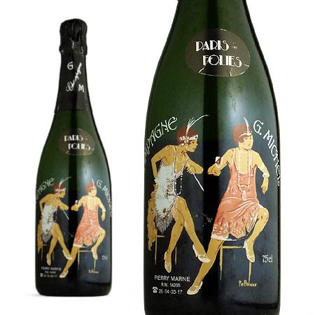 ギー ミッシェル シャンパーニュ ブリュット パリ フォリ ミレジム 1990年 超希少秘蔵限定古酒 R.M.生産者元詰 蔵出し 高級プリントボトル
