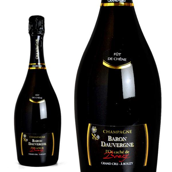 シャンパン バロン・ドーヴェルニュ グラン・クリュ ロール・カシェ・ド・ブジー ブリュット 750ml (フランス シャンパーニュ 白 箱なし)