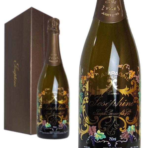 シャンパン ジョセフ・ペリエ キュヴェ・ジョセフィーヌ ブリュット ミレジム 2008年 750ml 箱入り 正規 (フランス シャンパーニュ 白)
